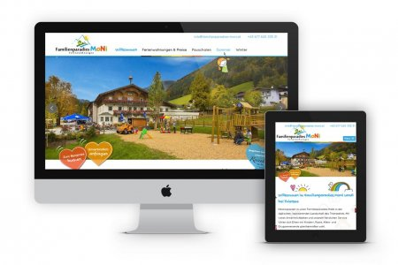 Tourismustraining | Website Familienparadies Moni | www.familienparadies-moni.at