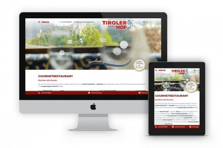 Tourismustraining | Website Tirolerhof Nauders | www.tirolerhof-nauders.at