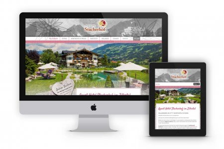 Tourismustraining | Website Aparthotel Stacherhof | www.stacherhof.at